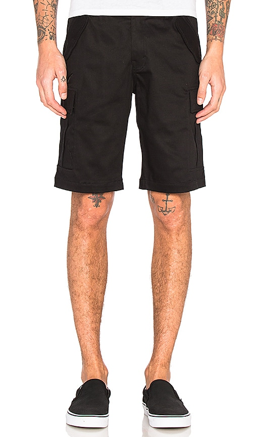 Publish Rohan Shorts in Black