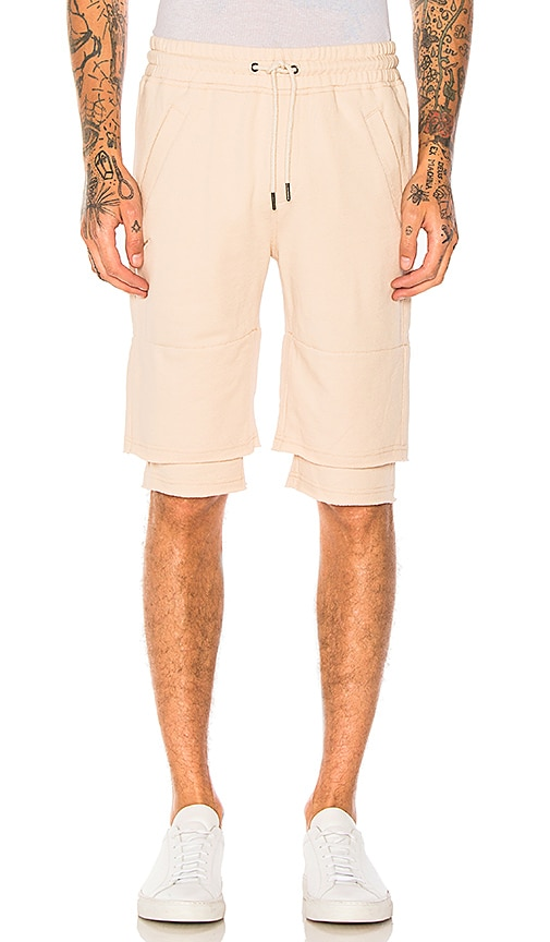 Publish Jett Shorts in Tan