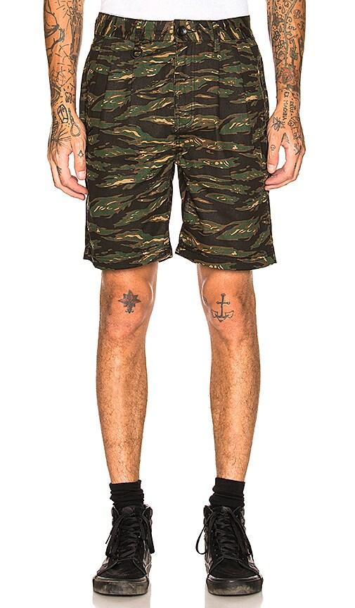 Publish Derick Shorts in Dark Green
