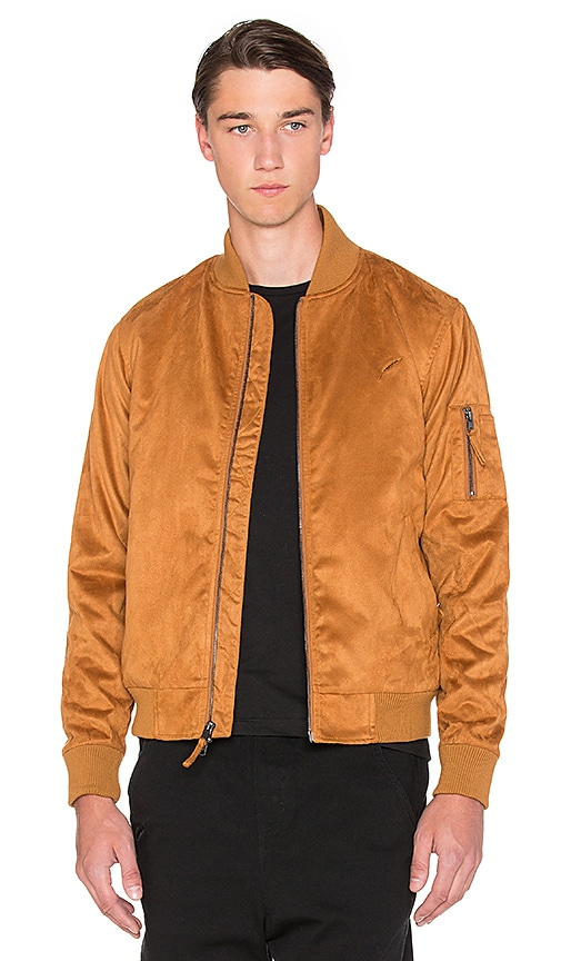 Publish Theodore Bomber Jacket in Rust