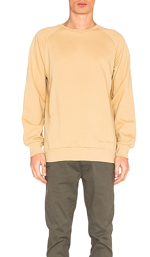 Publish Alford Sweatshirt in Tan