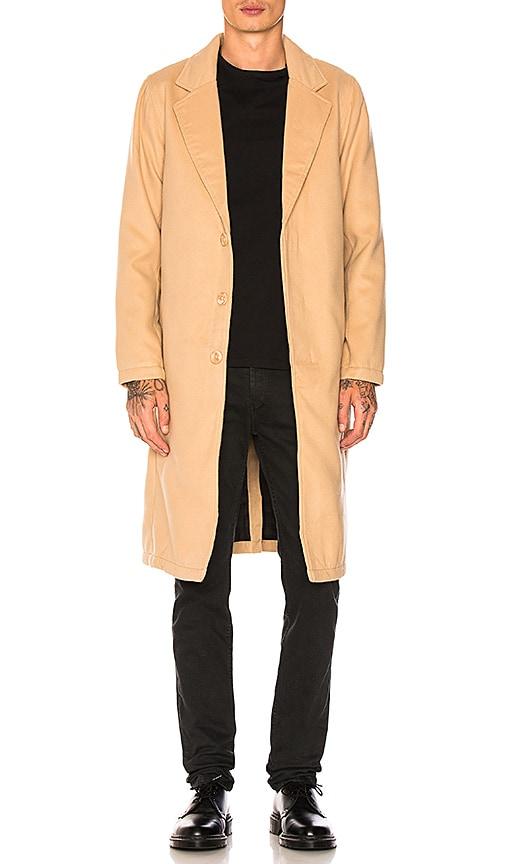 Publish London Coat in Tan