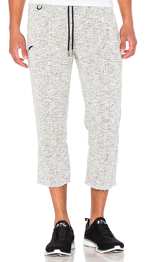 Publish Gilby Cropped Pant in Light Gray