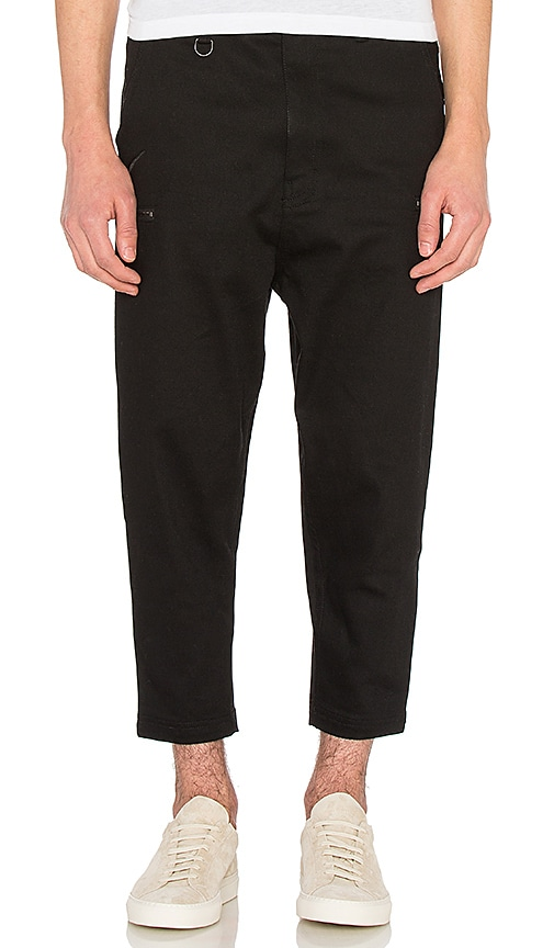 Publish Den Pant in Black