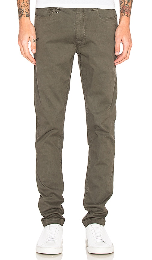 Publish Pierce Chinos in Olive