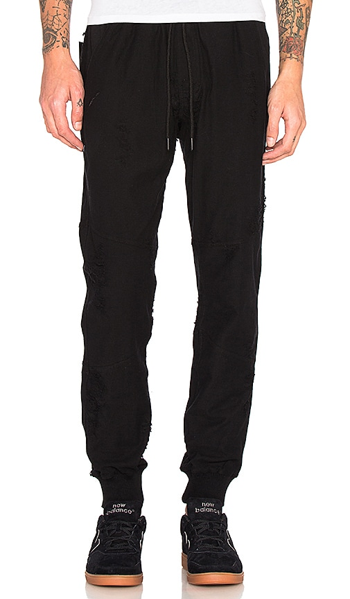 Publish Gideon Joggers in Black