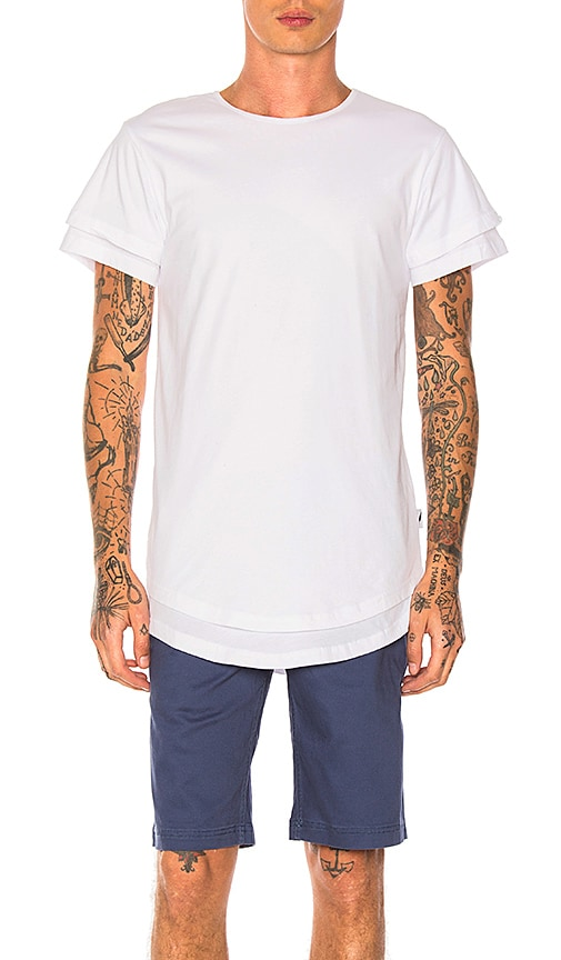 Publish Mason Tee in White