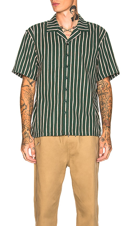 Publish Lopez Shirt in Dark Green