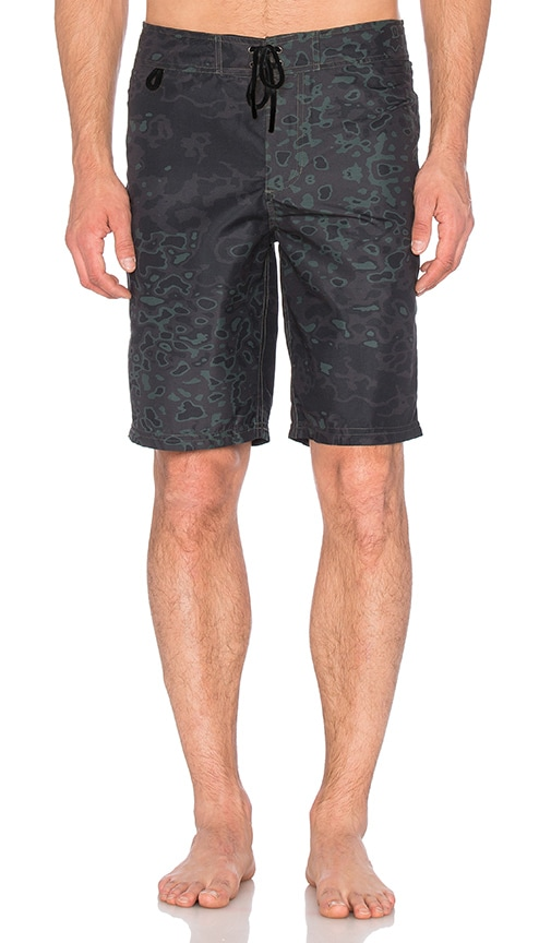 Publish Weaver Boardshorts in Green