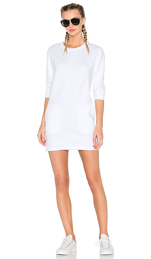 Publish Jill Mini Dress in White