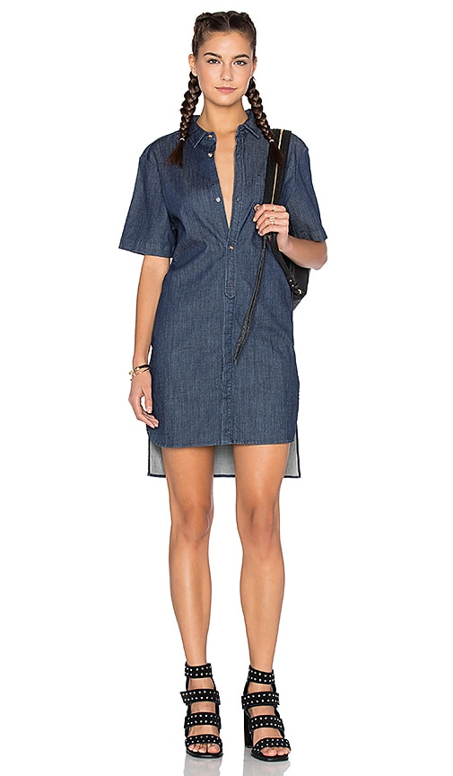 Sybil Button Up Shirt Dress