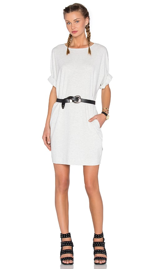 Publish Bell Shirt Dress in Gray