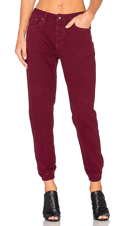 Publish Mindie Jogger in Maroon