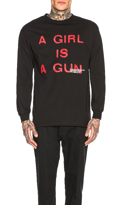 T-SHIRTS MANCHES LONGUES GIRL IS A GUN