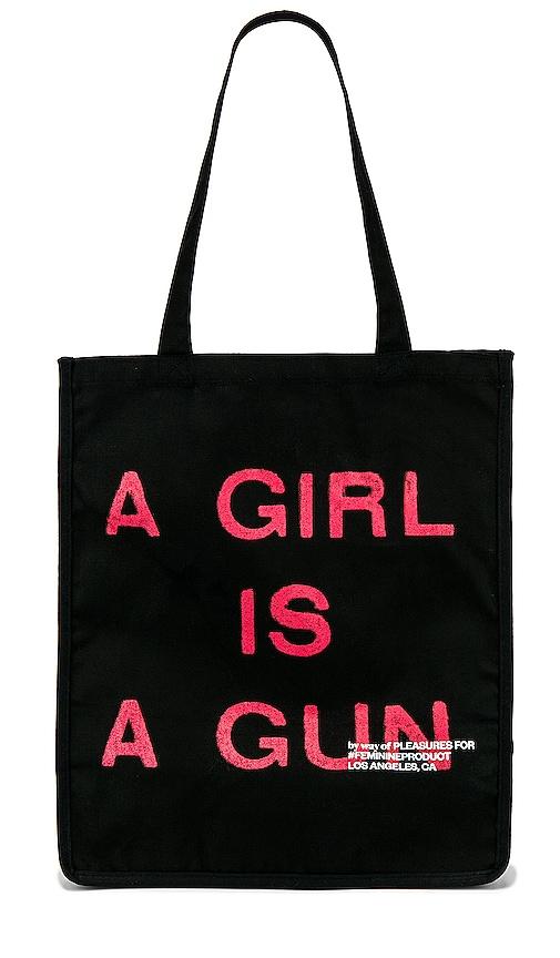 A Girl Is A Gun Tote Bag