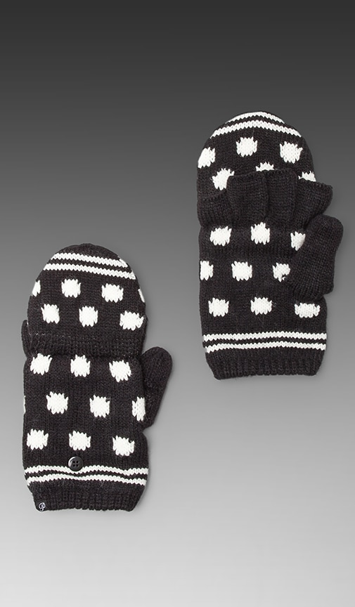 Polka Dot Texting Mittens