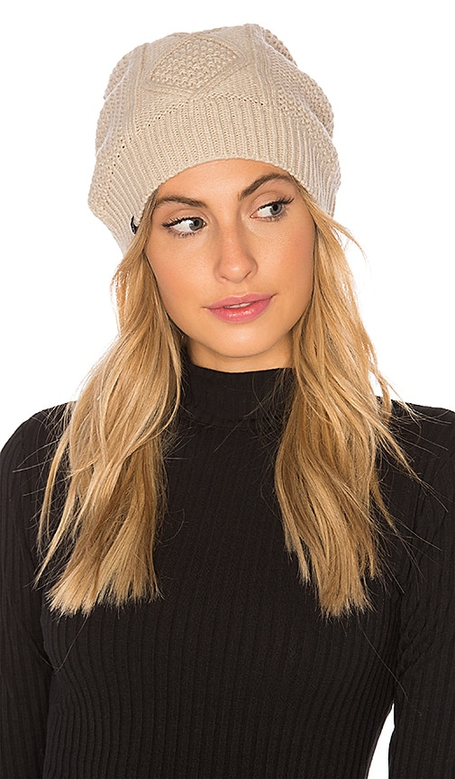 Fleece Lined Cable Knit Beanie