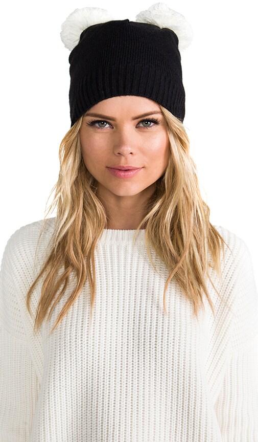 Pom Pom Ear Hat
