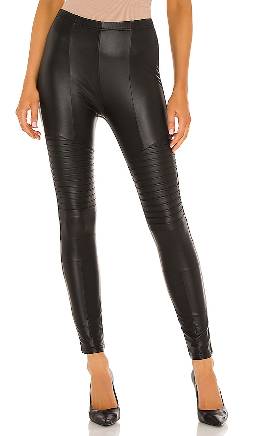 Fleece Lined Liquid Moto Legging