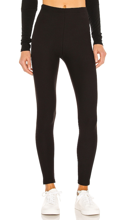 Cotton Fleece Lined Legging