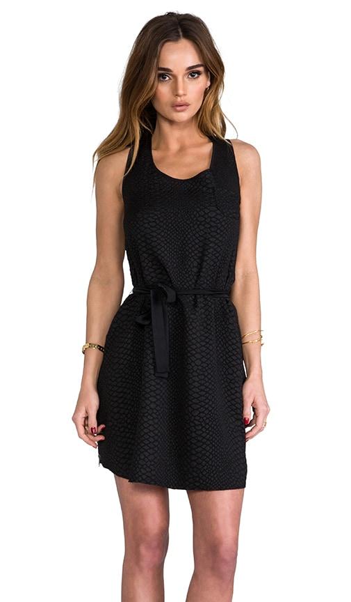 Croc Zip Dress