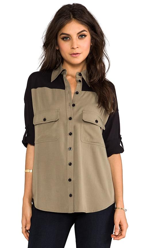 Combo Wingback Shirt