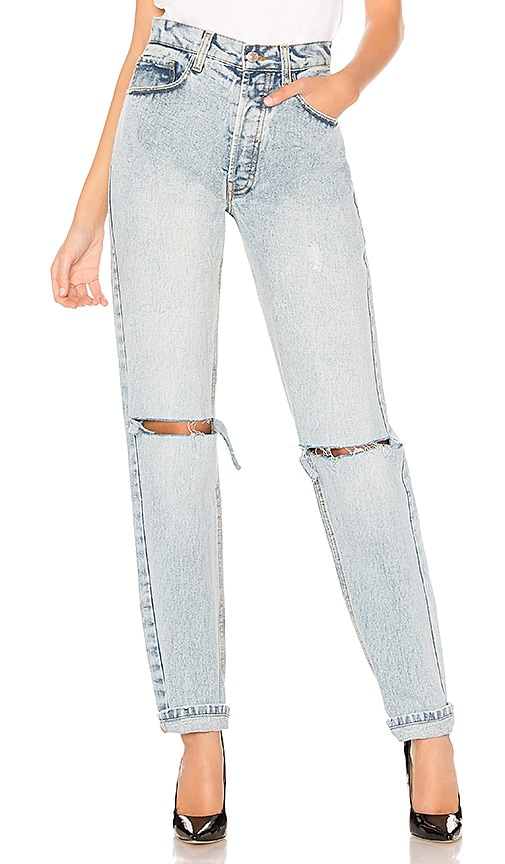 Palmer Girls x Miss Sixty Denim Mom Jeans in Light Wash
