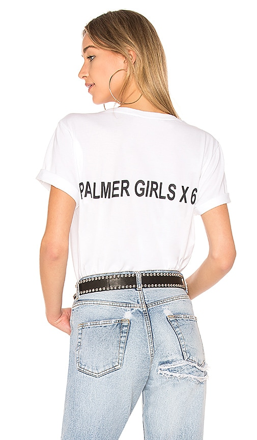 Palmer Girls x Miss Sixty Short Sleeve Tee in White