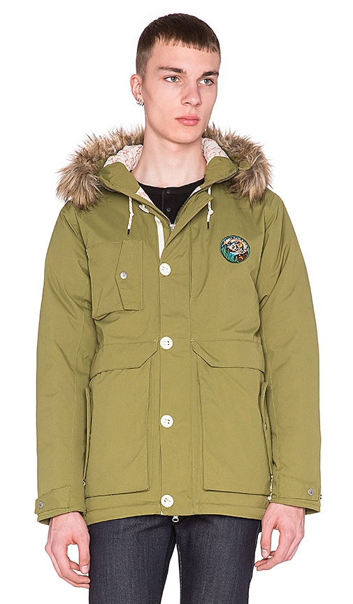 Poler Snorkel Jacket in Mossy