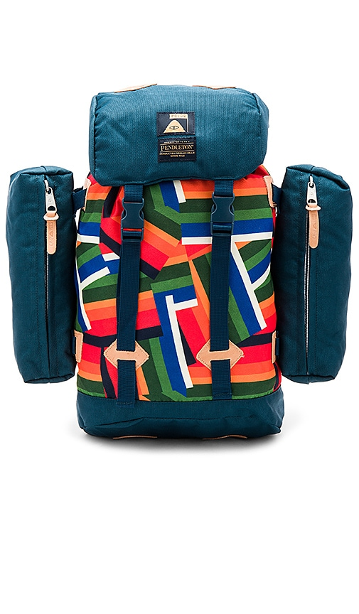 Poler x Pendleton Crater Lake Rucksack in Teal