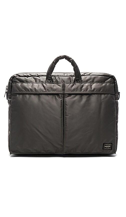 Porter-Yoshida & Co. Tanker 2Way Briefcase in Gray