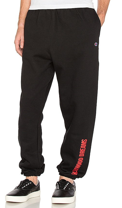 Post Malone Hollywood Dreams Sweatpants in Black