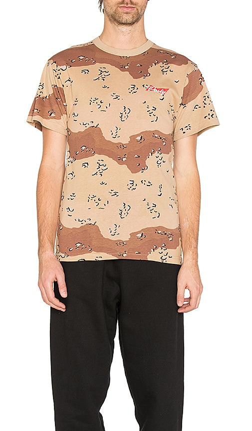 Post Malone Hollywood Dreams Tour Posty Camo Tee in Brown