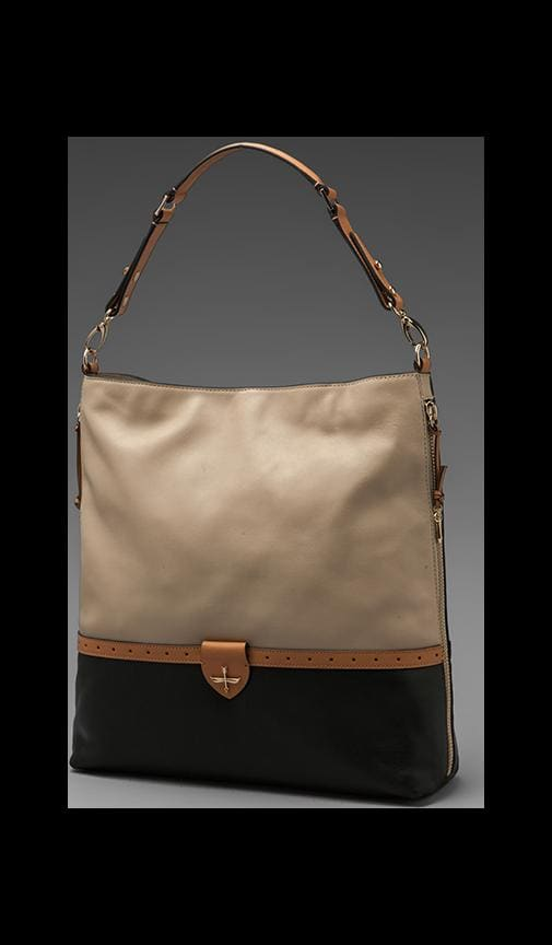 Aline Hobo Bag Bone/ Evergreen
