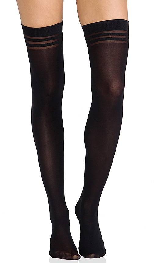 Super Lovely Basics Opaque Thigh High Tights