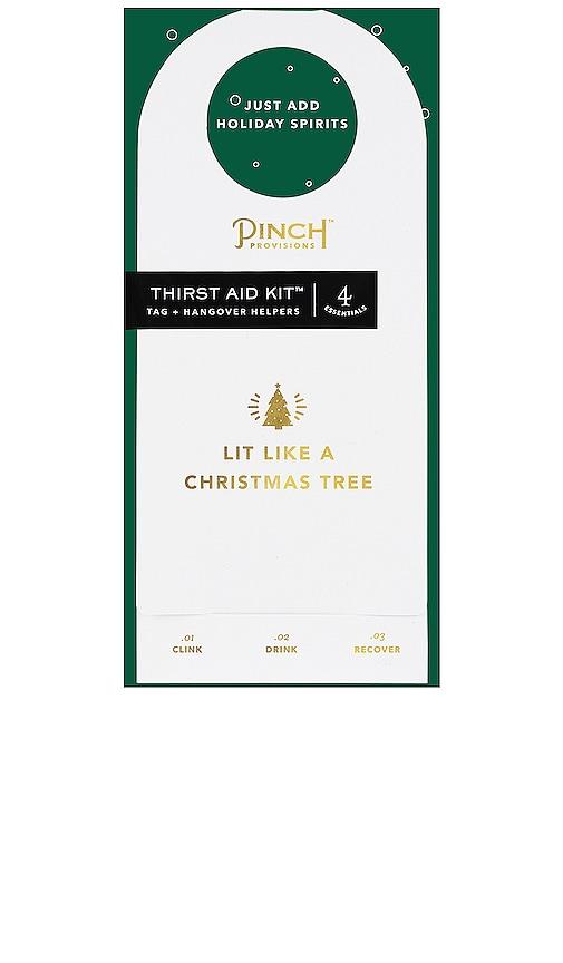 PINCH PROVISIONS LIT LIKE A CHRISTMAS TREE THIRST AID KIT