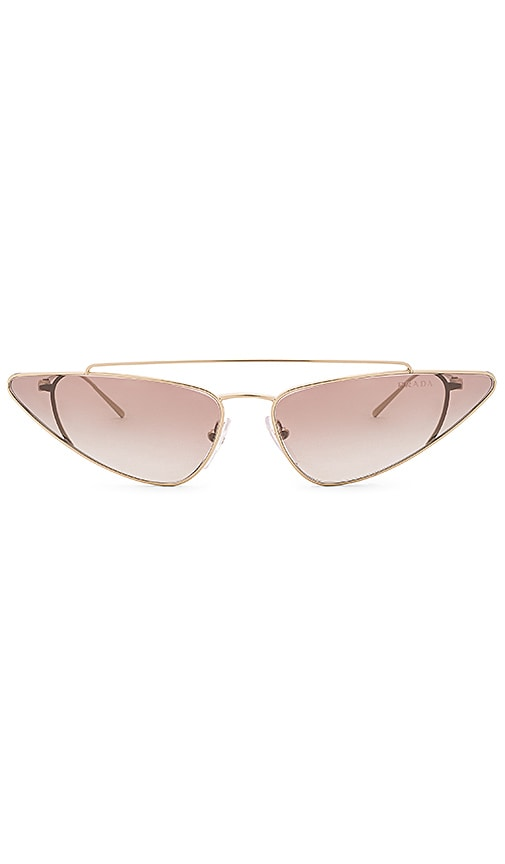 Prada ULTRAVOX METAL CAT EYE SUNGLASSES