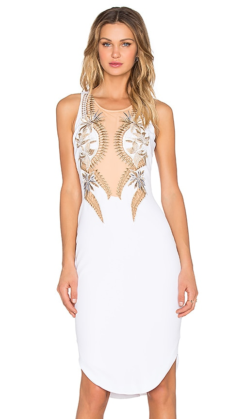 Premonition Skyfall Dress in White