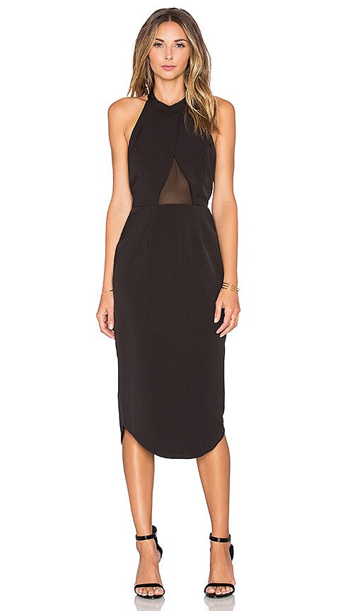 Premonition Warpaint Dress in Black