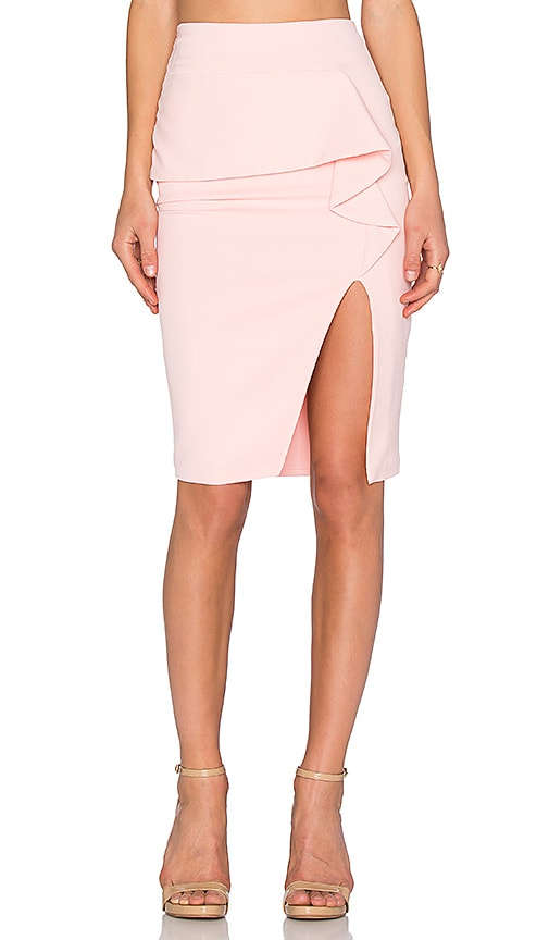 Premonition Retrograde Skirt in Pink