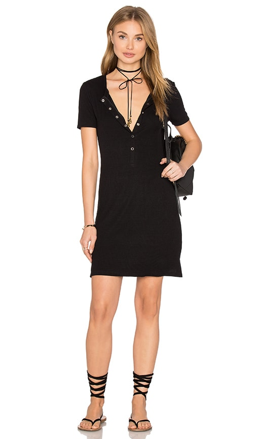 Privacy Please Travers Dress in Black