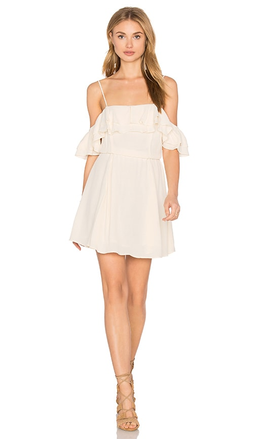 Privacy Please Mosk Dress in Ivory