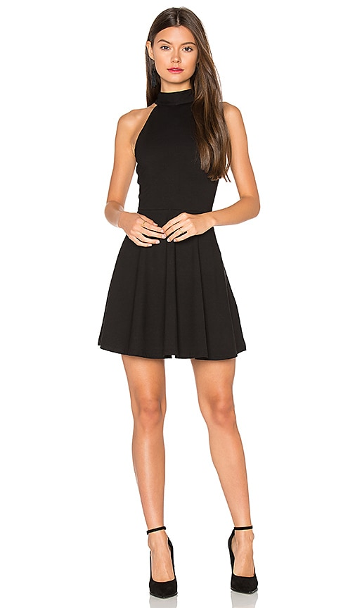 Privacy Please Salo Dress in Black
