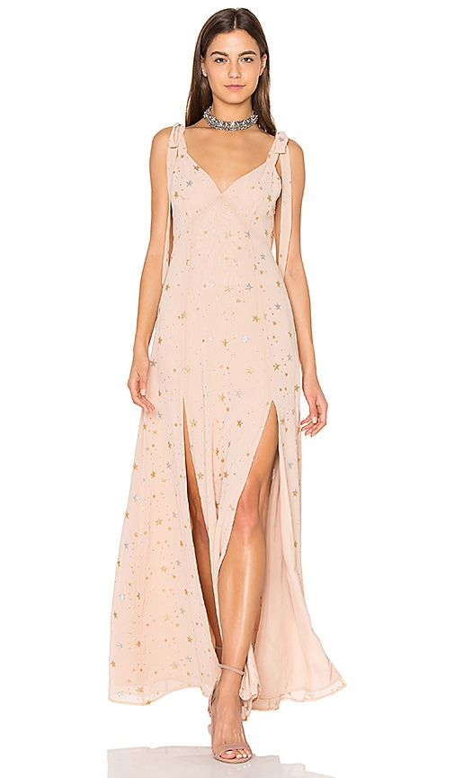 Privacy Please Jupiter Dress in Blush