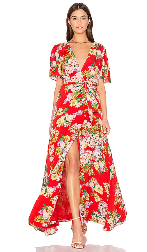 Privacy Please x REVOLVE Plaza Kimono Dress in Red
