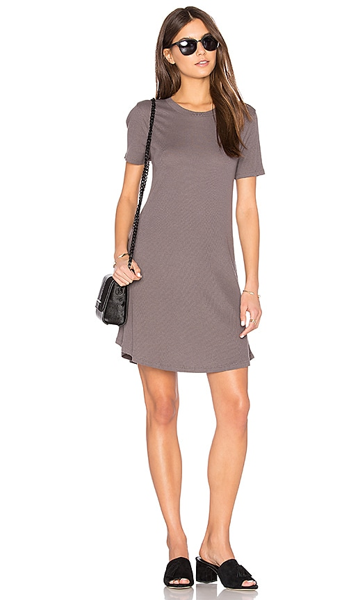 Privacy Please Caldwell Dress in Gray