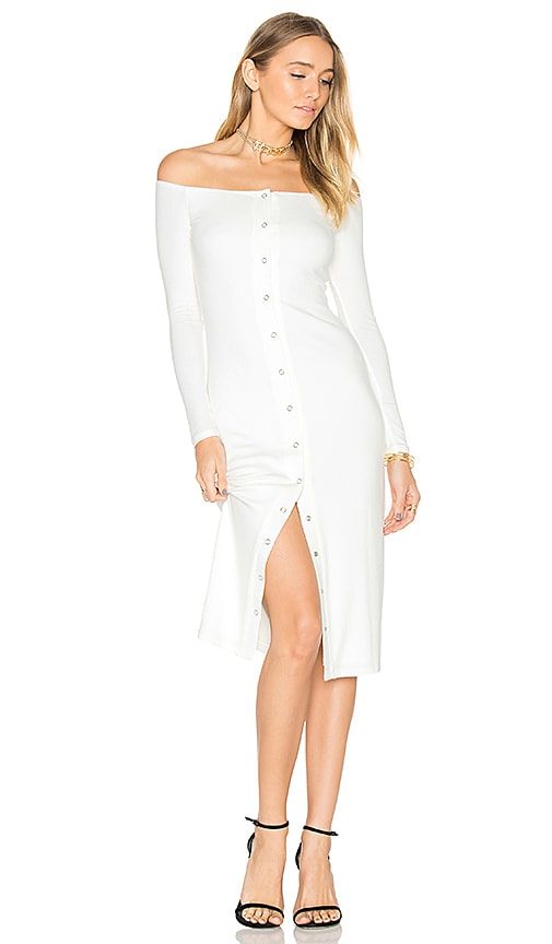Privacy Please x REVOLVE Anna Dress in Ivory