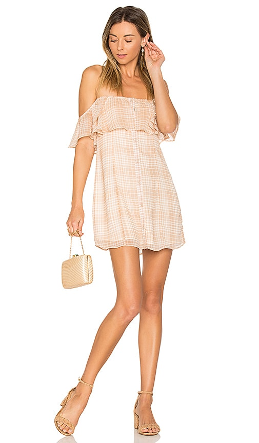 Privacy Please Norval Dress in Beige