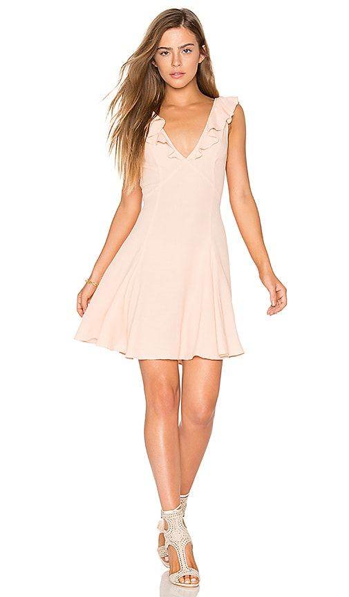 Privacy Please Polk Dress in Pink