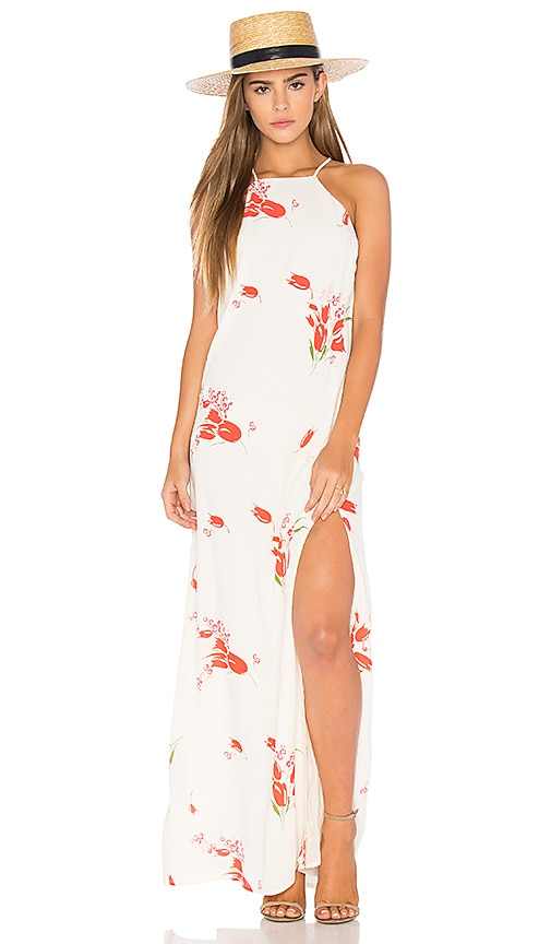 Privacy Please Beldon Dress in White